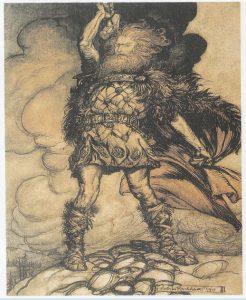 Скандинавский бог Тор в мифологии
