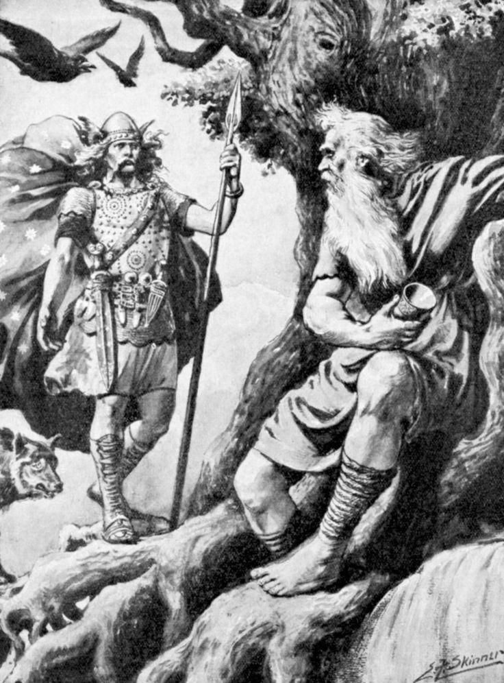 Бог тор в скандинавской мифологии
