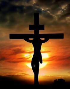 Иисус распятый на кресте