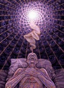 Выход души в момент смерти тела