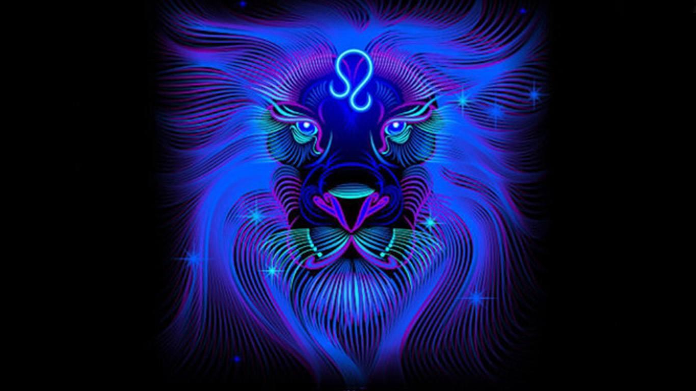 обои на телефон знак зодиака лев