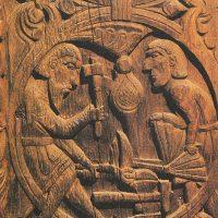 Карлик Регина, перековывающий  меч Сигурда