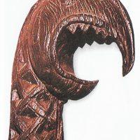 Голова животного, возможно, с носа ладьи викингов