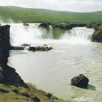 «Водопад богов» в Исландии