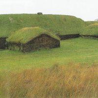 Реконструкция фермы викингов в Стонге