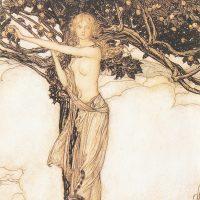 Трактовка изображения прекрасной богини Фрейи Артуром Рэкхэмом