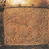 Деталь копии Каннин Каскет (датируется 1000 г. до н.э.)
