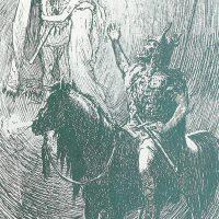 Хермод желает всего хорошего Бальдру и Нанне