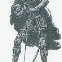 Улль, бог зимы, охоты, стрельбы из лука, смерти и покровитель конькобежцев