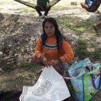 Индейская женщина племени Шипибо