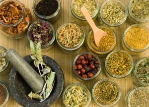 Измельченные лекарственные растения