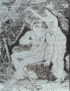 Бог Эгир и его жена Ран