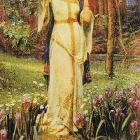 Богиня любви Фрейя