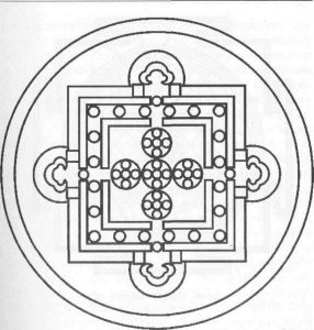 Предмет медитации - мандала