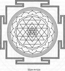 Предмет медитации - янтра