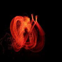 Искусство рисования факелами
