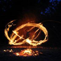 Искусство рисунка огнем
