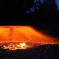 Ночной огненный ритуал