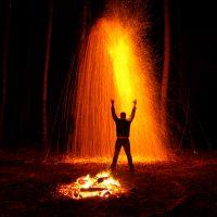 Ночной огнепад