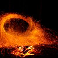 Ночные огненные ритуалы в местах силы