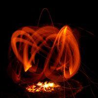 Ночные ритуалы с огнем