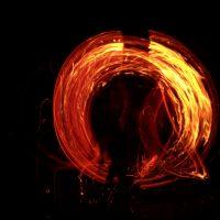 Ночные ритуалы с огнем в местах силы