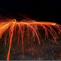 Огнехождение по ночам