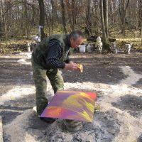 Разметка леса для художников