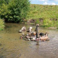 Живые камни на реке