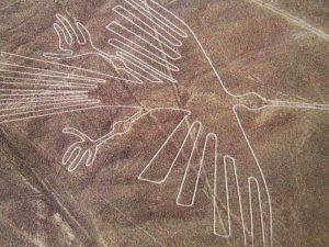 Один из геоглифов пустыни Наска