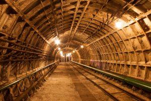 Туннель в подземную лабораторию