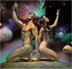 Божественная суть в сущности мужчины и женщины